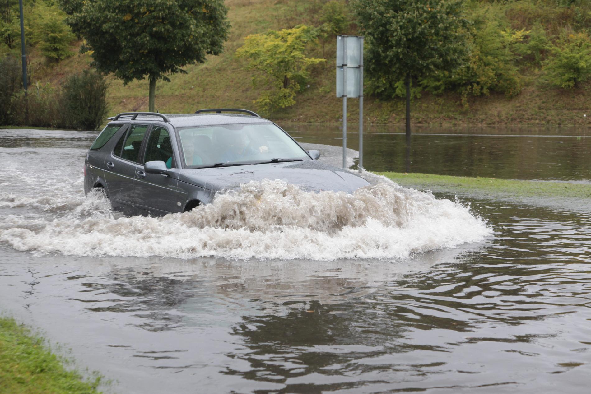 Översvämningar i Malmö. Arkivbild.