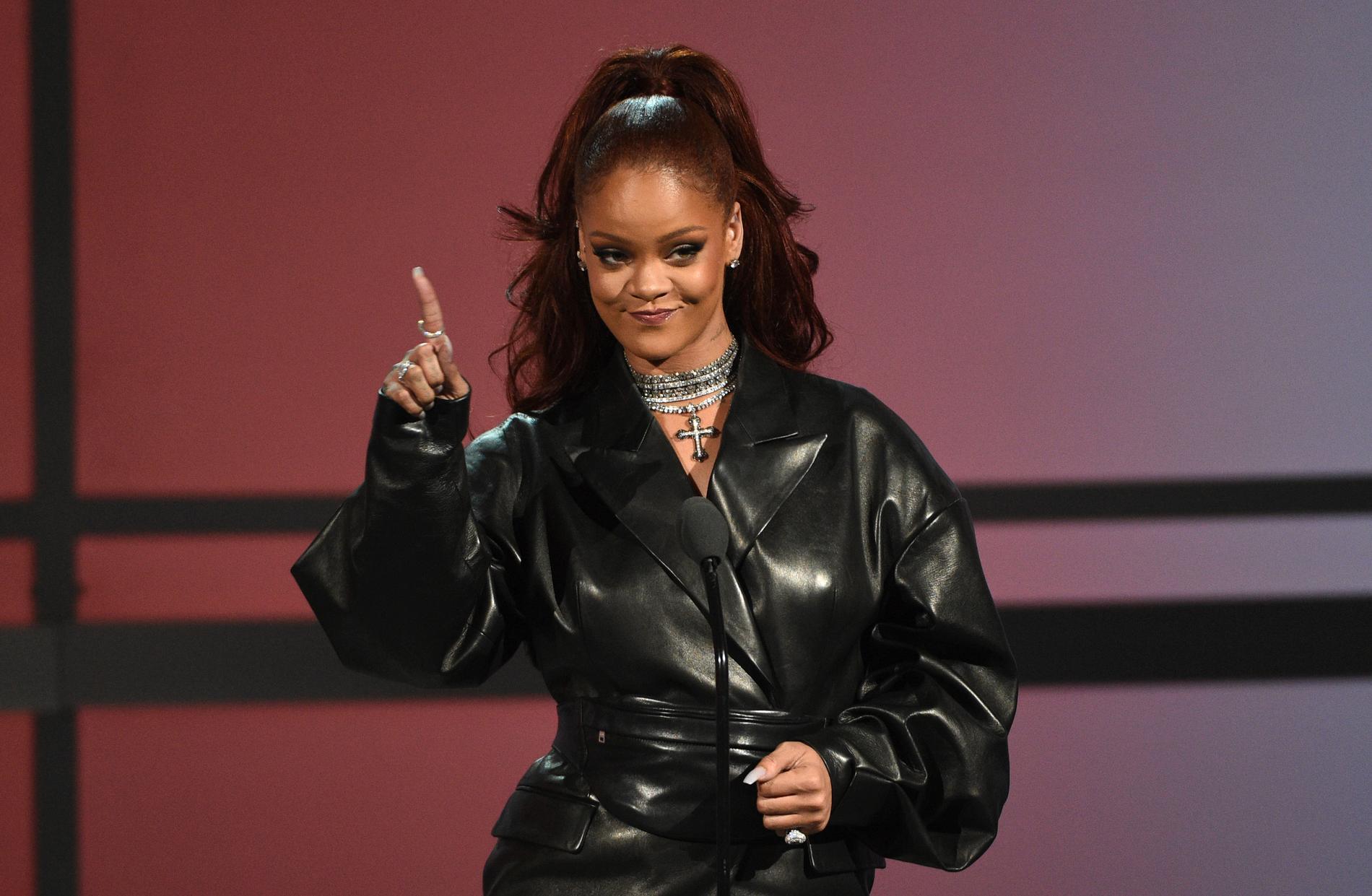 Rihanna har donerat motsvarande 52 miljoner kronor för att hjälpa människor under coronakrisen. Arkivbild.