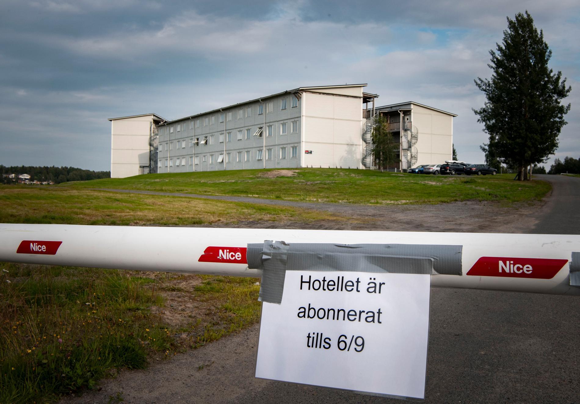 """153 rum bara för """"Robinson""""-teamet. Hela hotellkomplexet är abonnerat för TV4:s personal."""