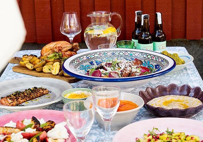 Grillbuffé – bjud på en härlig grillkväll