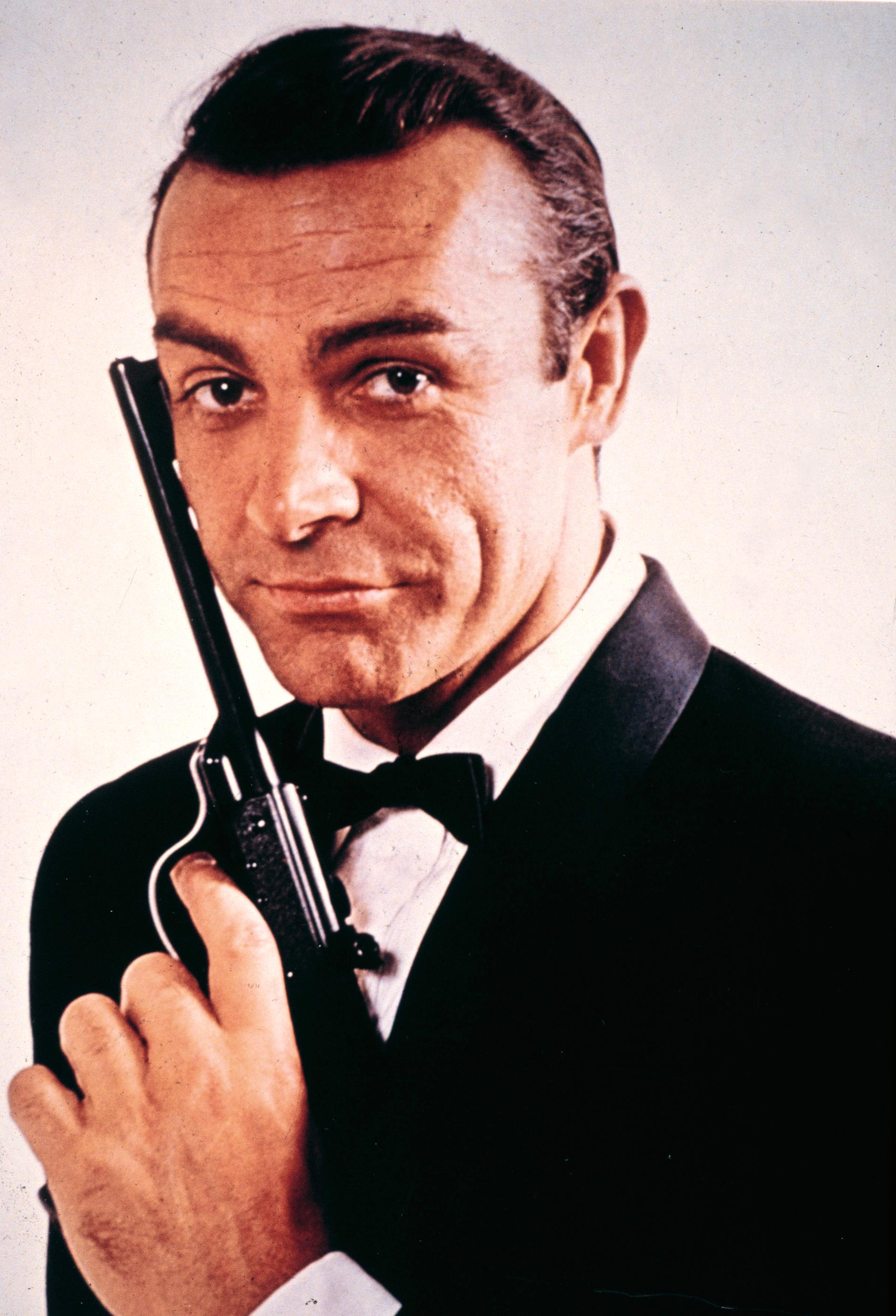Sean Connery är kanske mest känd som James Bond.
