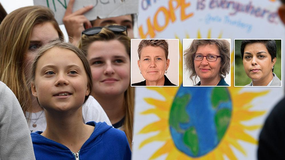 Greta Thunberg, som seglat över Atlanten för att delta i FN-mötet, har skapat en medvetenhet kring klimatfrågan som få andra har gjort, någonsin. Men för det betalar hon ett högt pris. Hon trakasseras på Twitter och nyligen åtalades en svensk man för att ha mordhotat henne, skriver debattörerna.