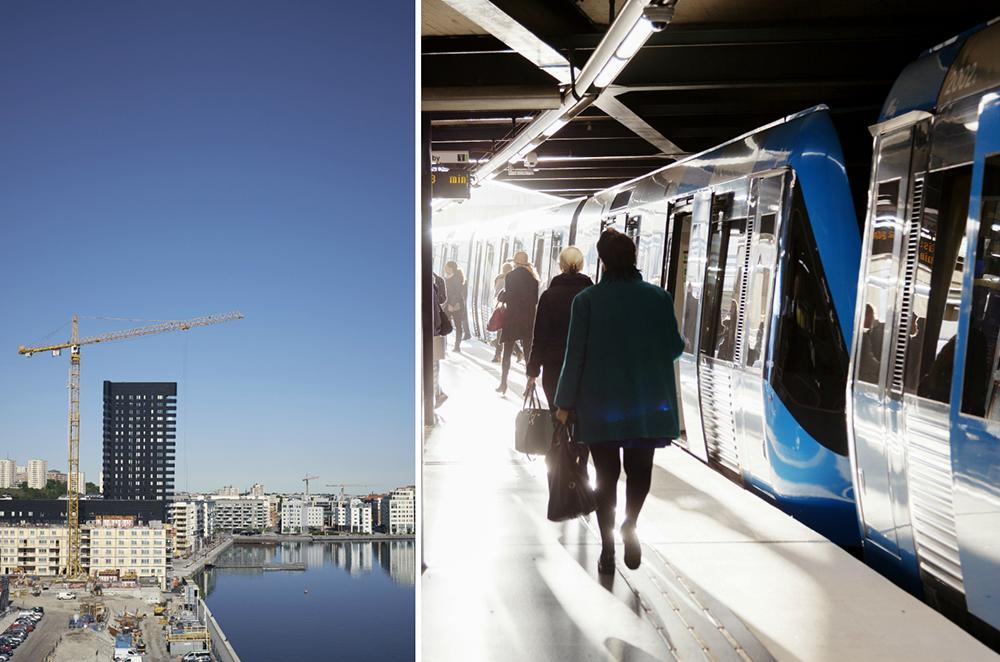 Ny tunnelbana och 100000 bostäder ska byggas i Stockholm.
