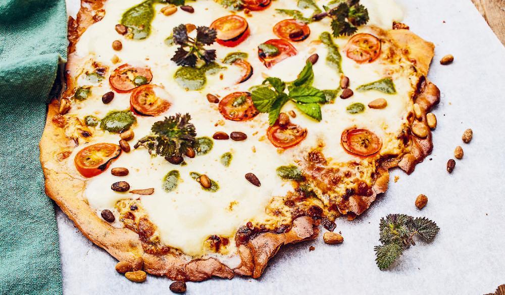 Kikärtspizza