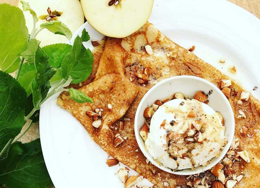 På Järvsö Creperi kan du äta både crepes och galetter.