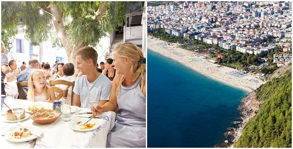 I sommar är det billigt att semestera i Turkiet.