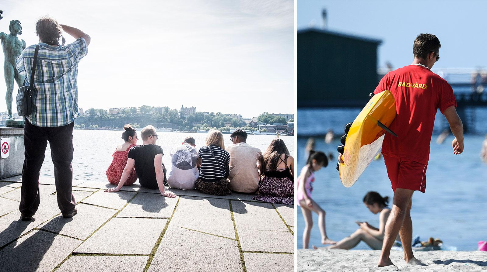 Turismen i Sverige ökar.