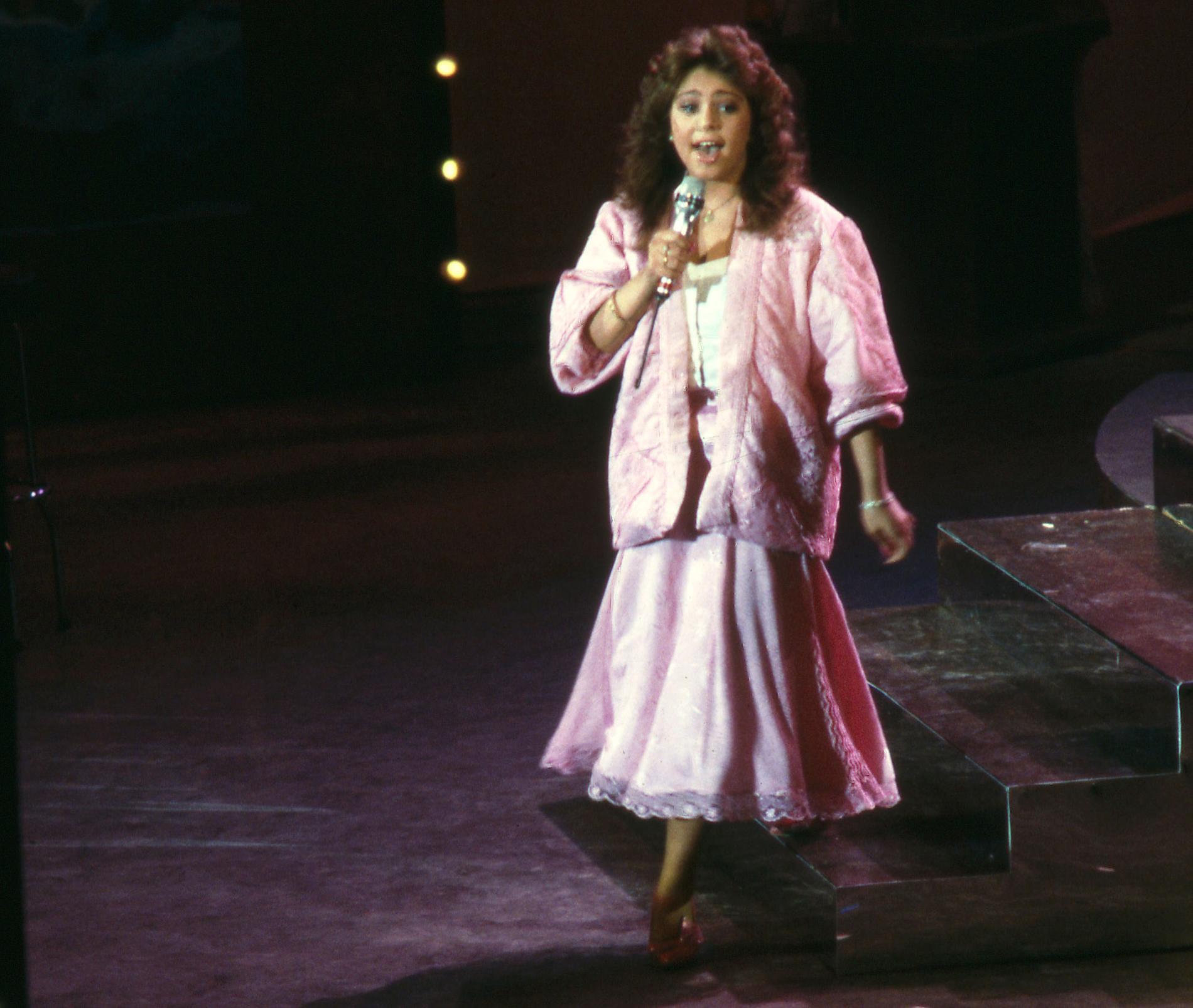 Anna Book i Melodifestivalen 1986