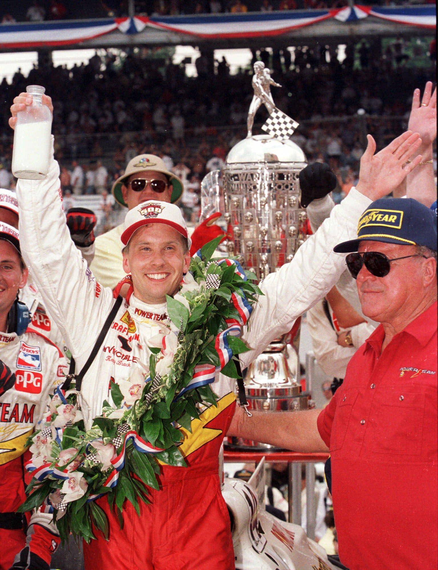 Kenny Bräck vann Indy 500 1999