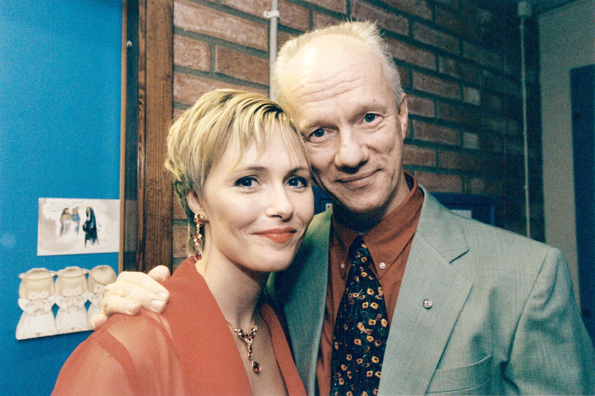 Marie Kühler och Peter Flack 1996.