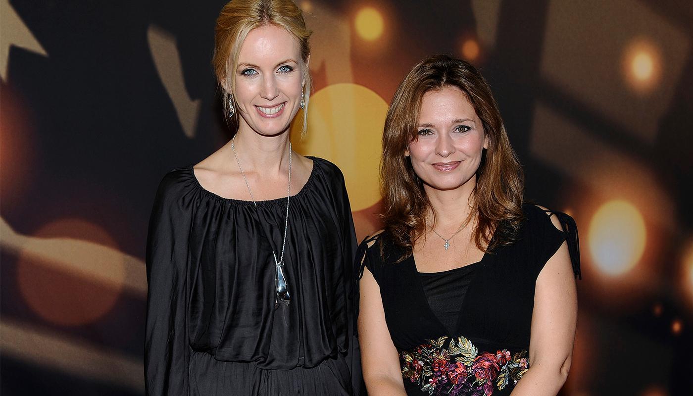 Rafaela Lindeberg tillsammans med Jenny Strömstedt.