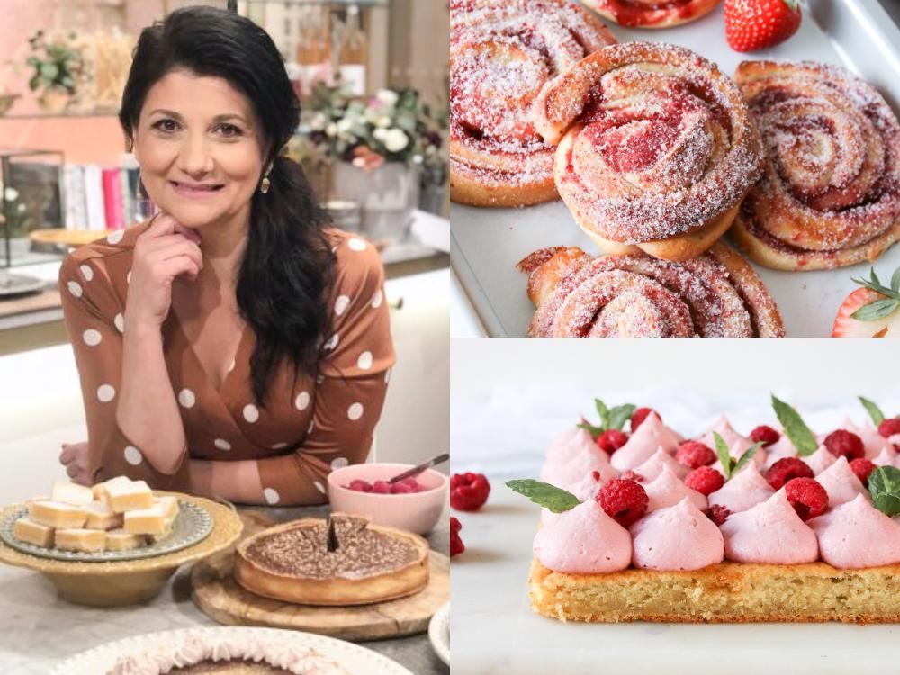 Simona har fyllt sin blogg med goda och vackra bakverk.