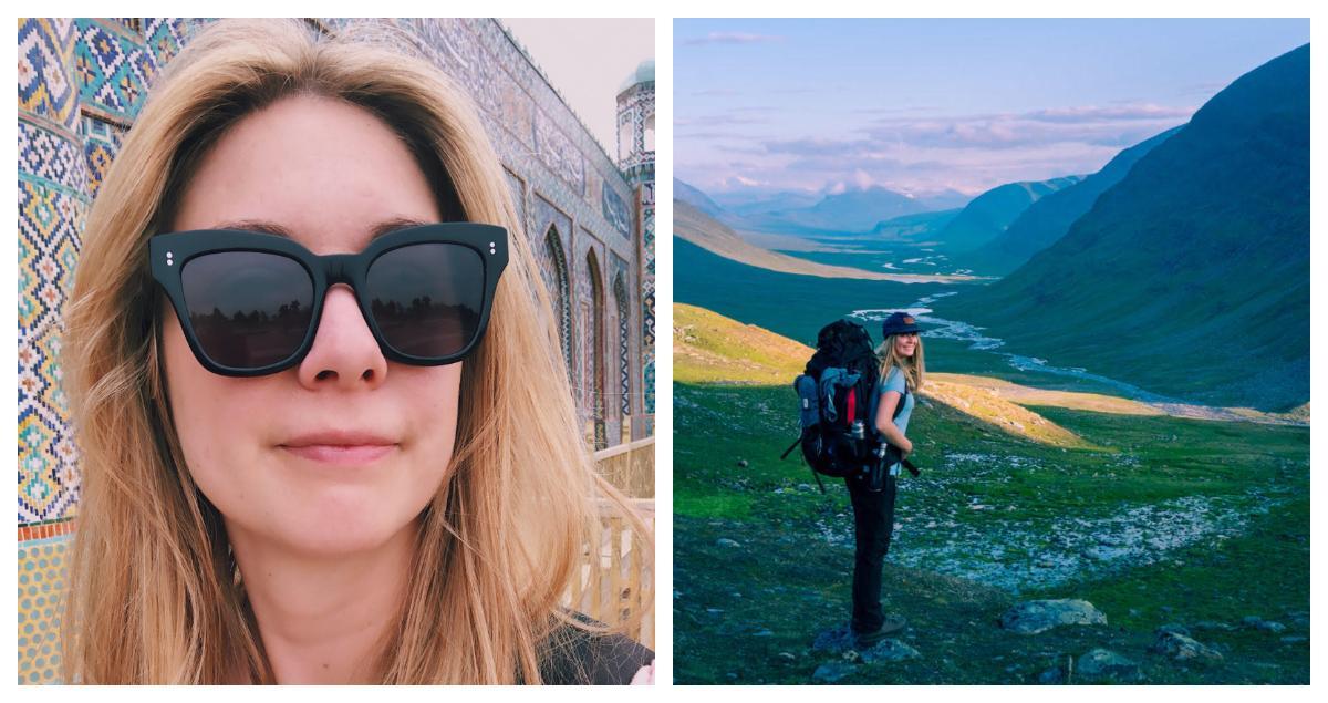 Sofia Zetterqvist har varit på charter med familjen som liten, men nu föredrar hon äventyr.