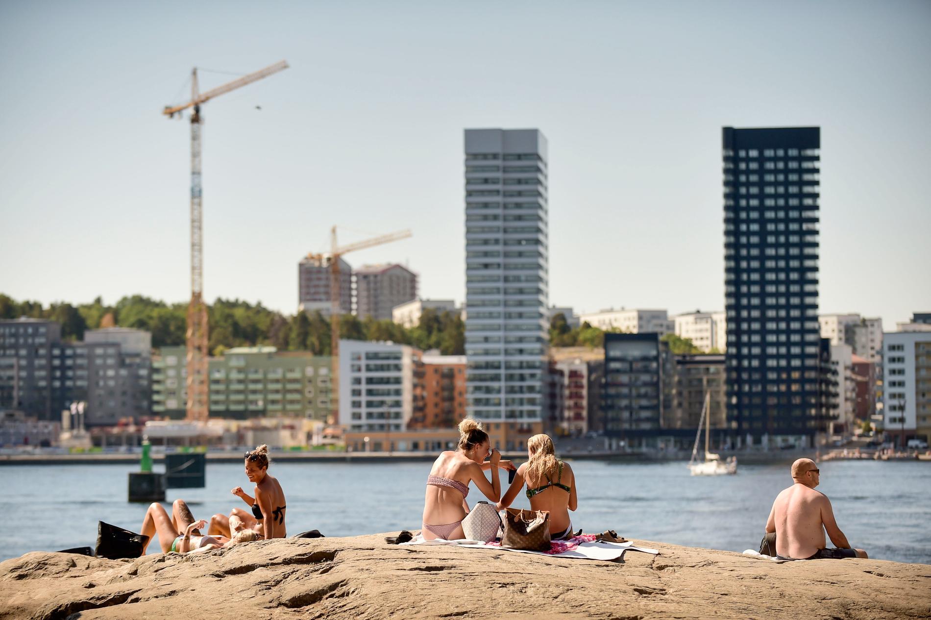 Tanto strandbad är en badplats mitt i centrala Stockholm.