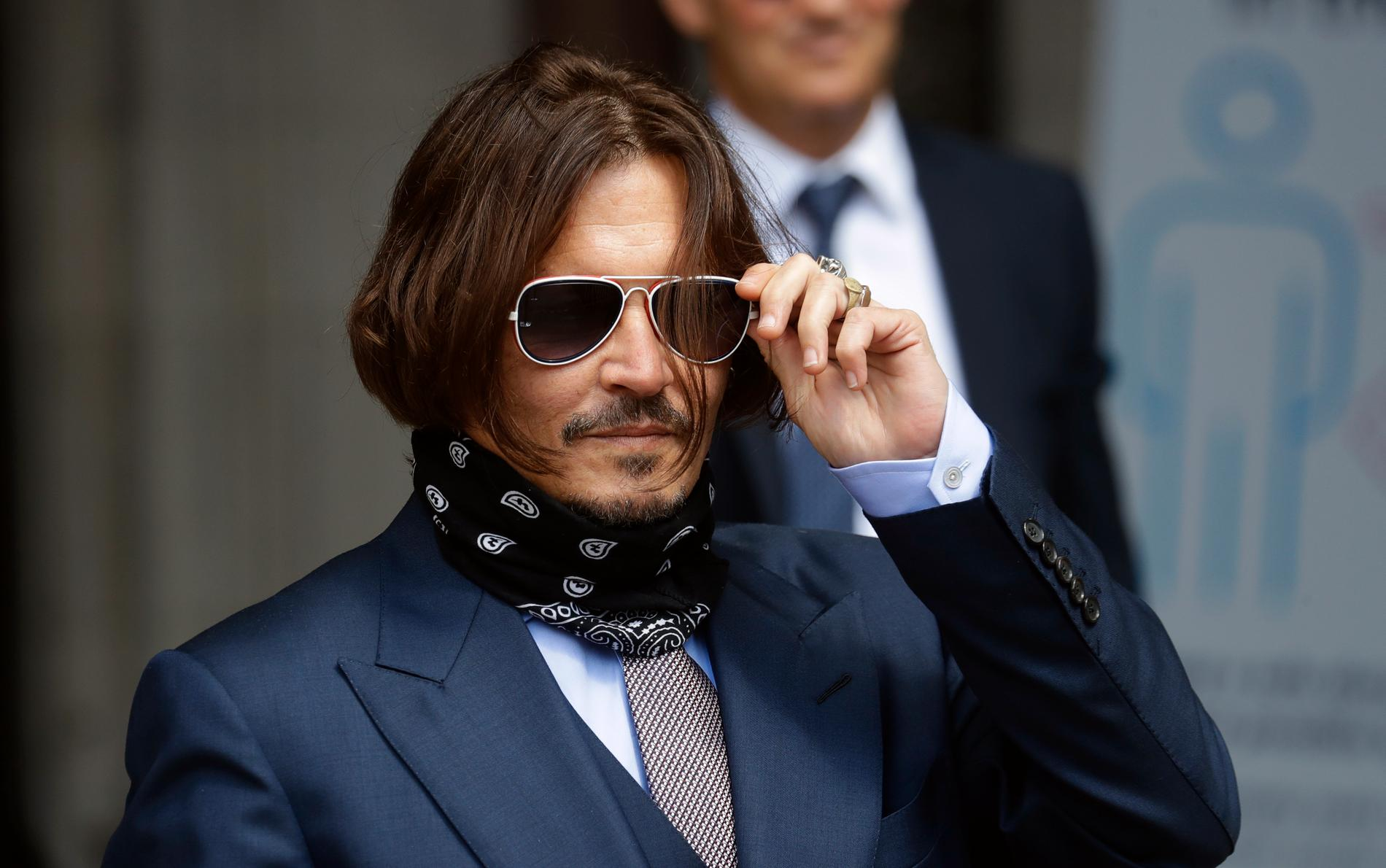 Ny motgång för Johnny Depp.