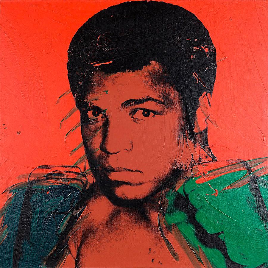 "Andy Warhol, ""Muhammad Ali"", 1978."