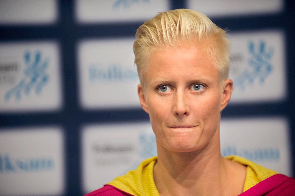 Carolina Klüft måste visa positivt resultat för att åka till OS.
