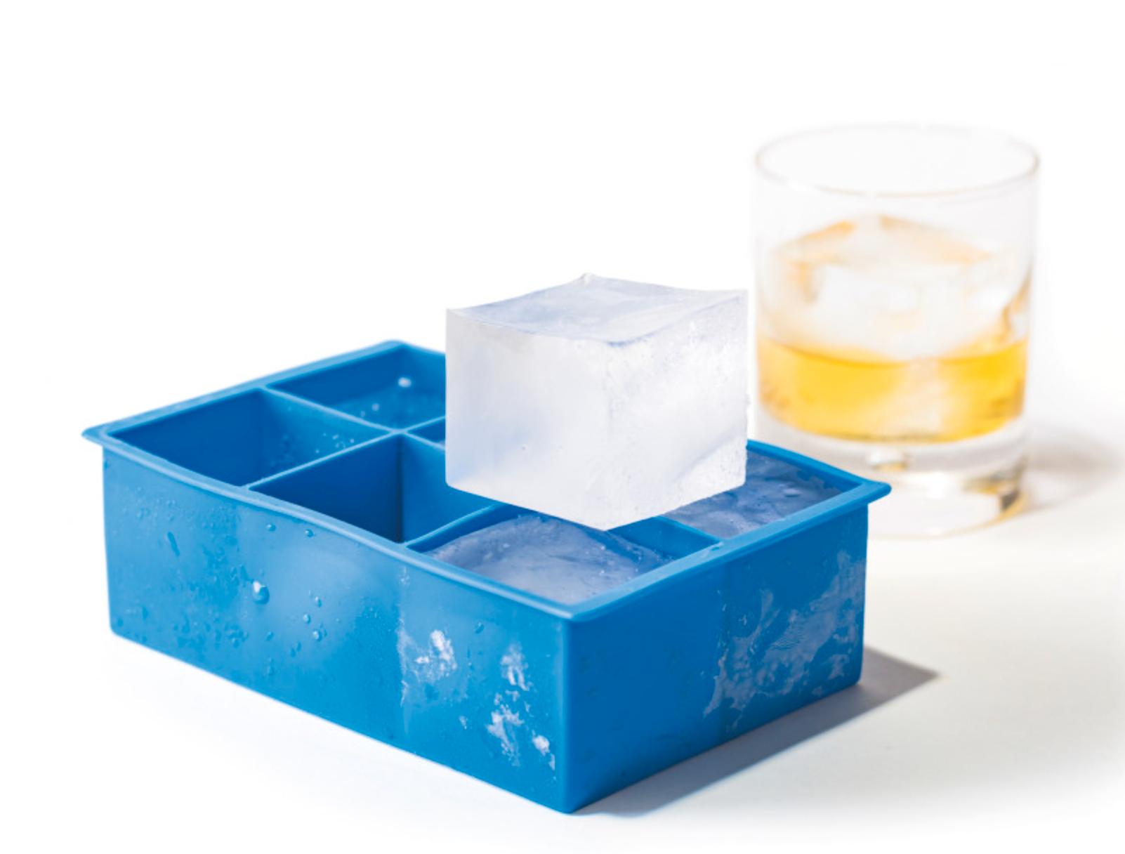 Iskubsform för stora isbitar