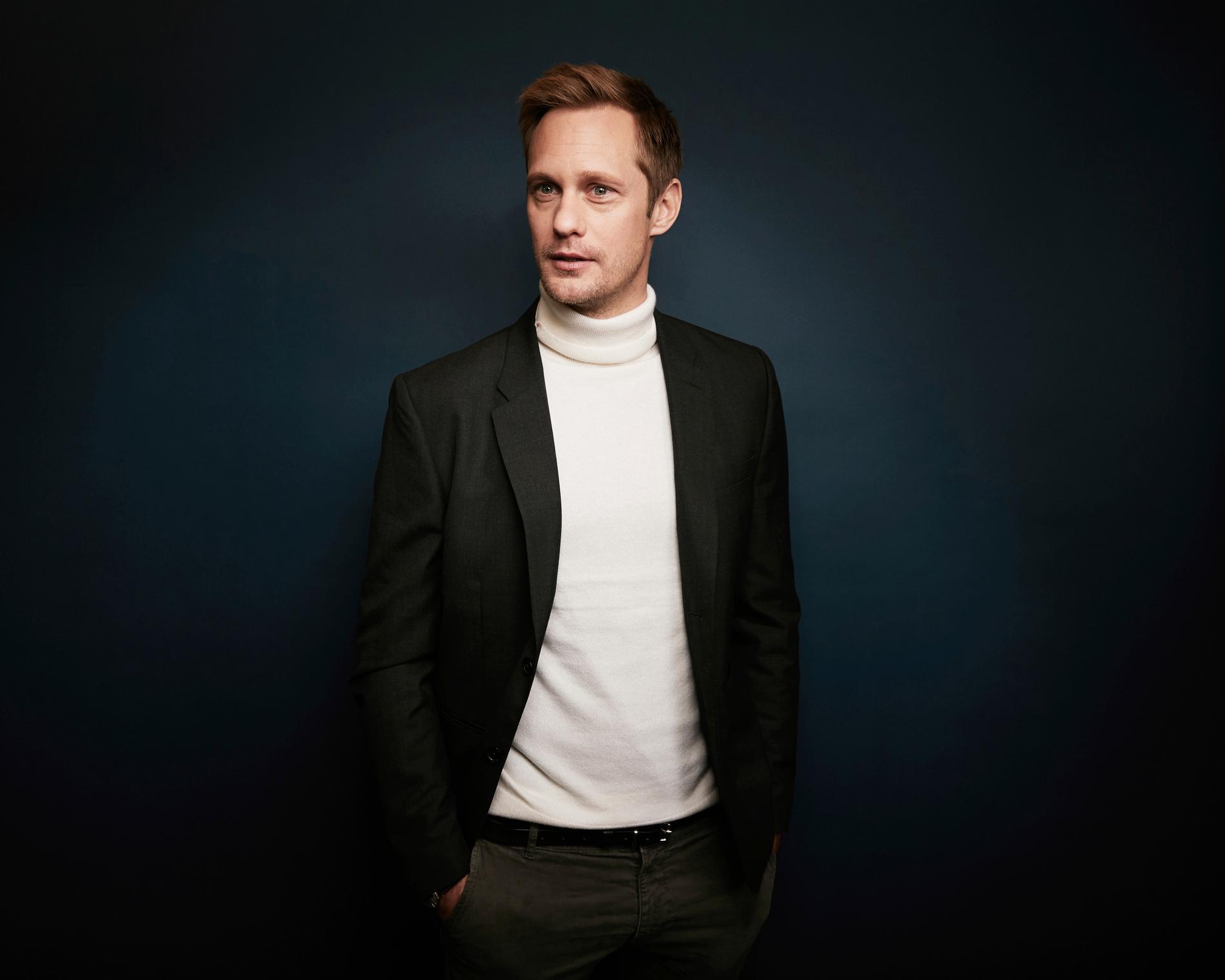 Alexander Skarsgvård. Arkivbild.