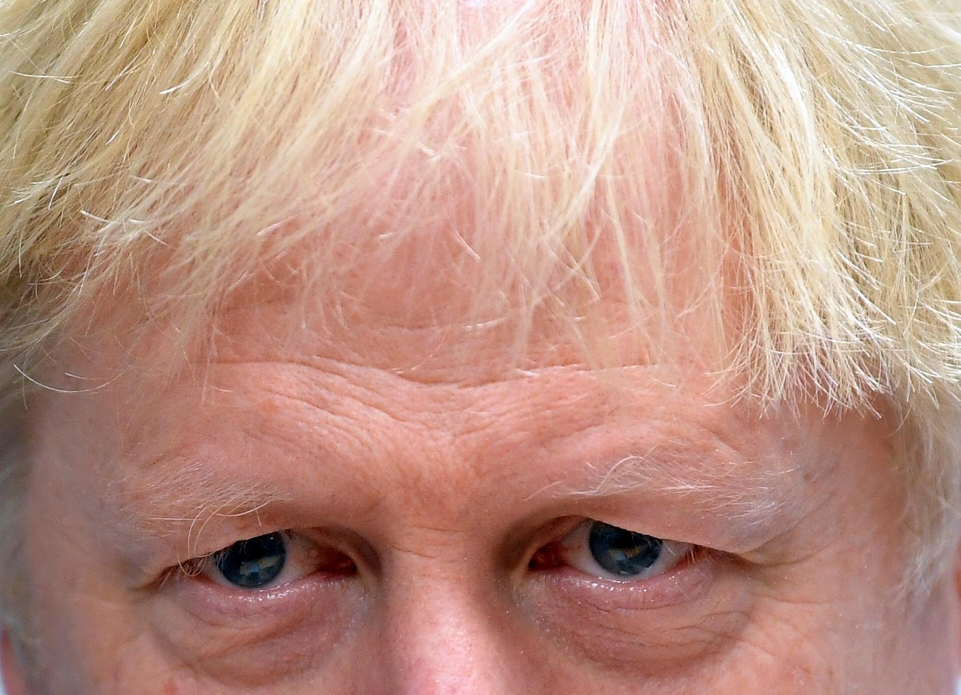 Den brittiske premiärministern Boris Johnson vill se ett nyval i december. Arkivbild.