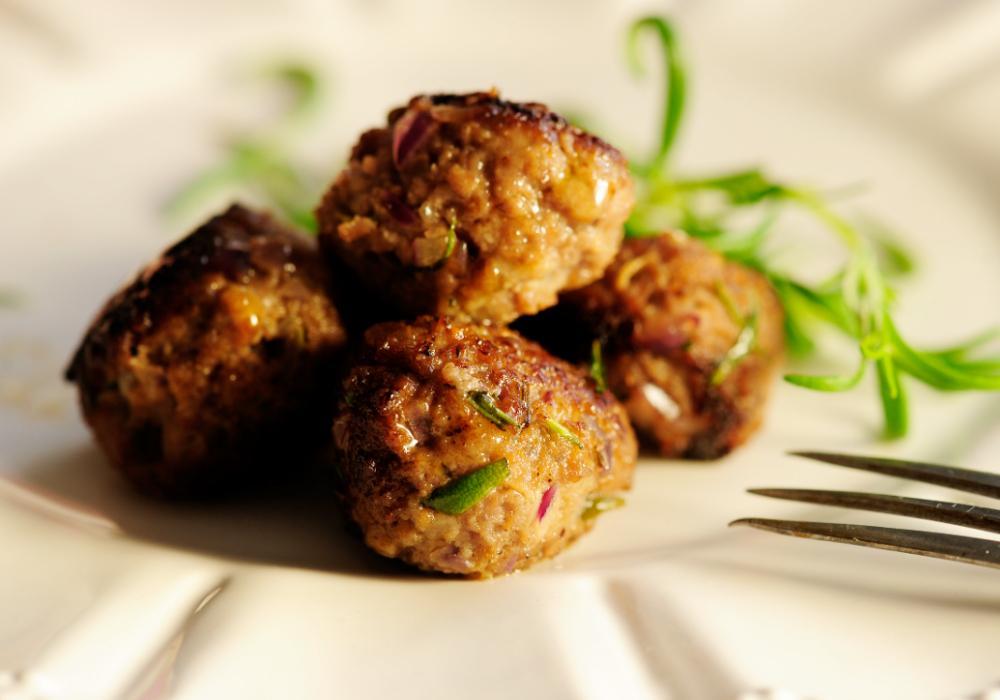 Viltköttbullar med smak av rosmarin