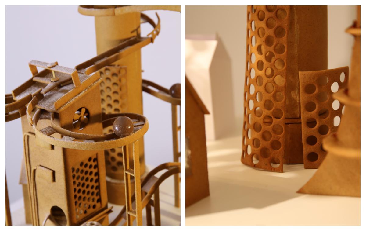 Chokladfabrikens detaljer är otroligt fina.