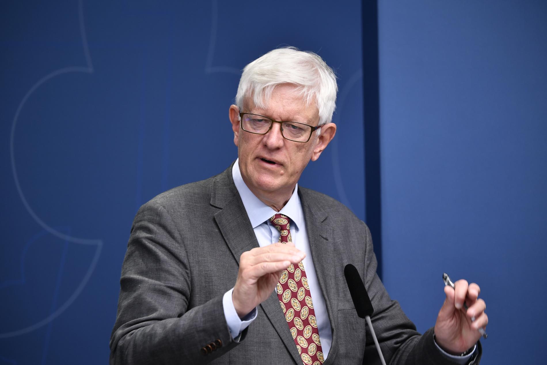 – Det gamla SMI hade inte varit i närheten att kunna hantera en pandemi som covid-19 på det sätt som görs i dag, säger Johans Carlson.