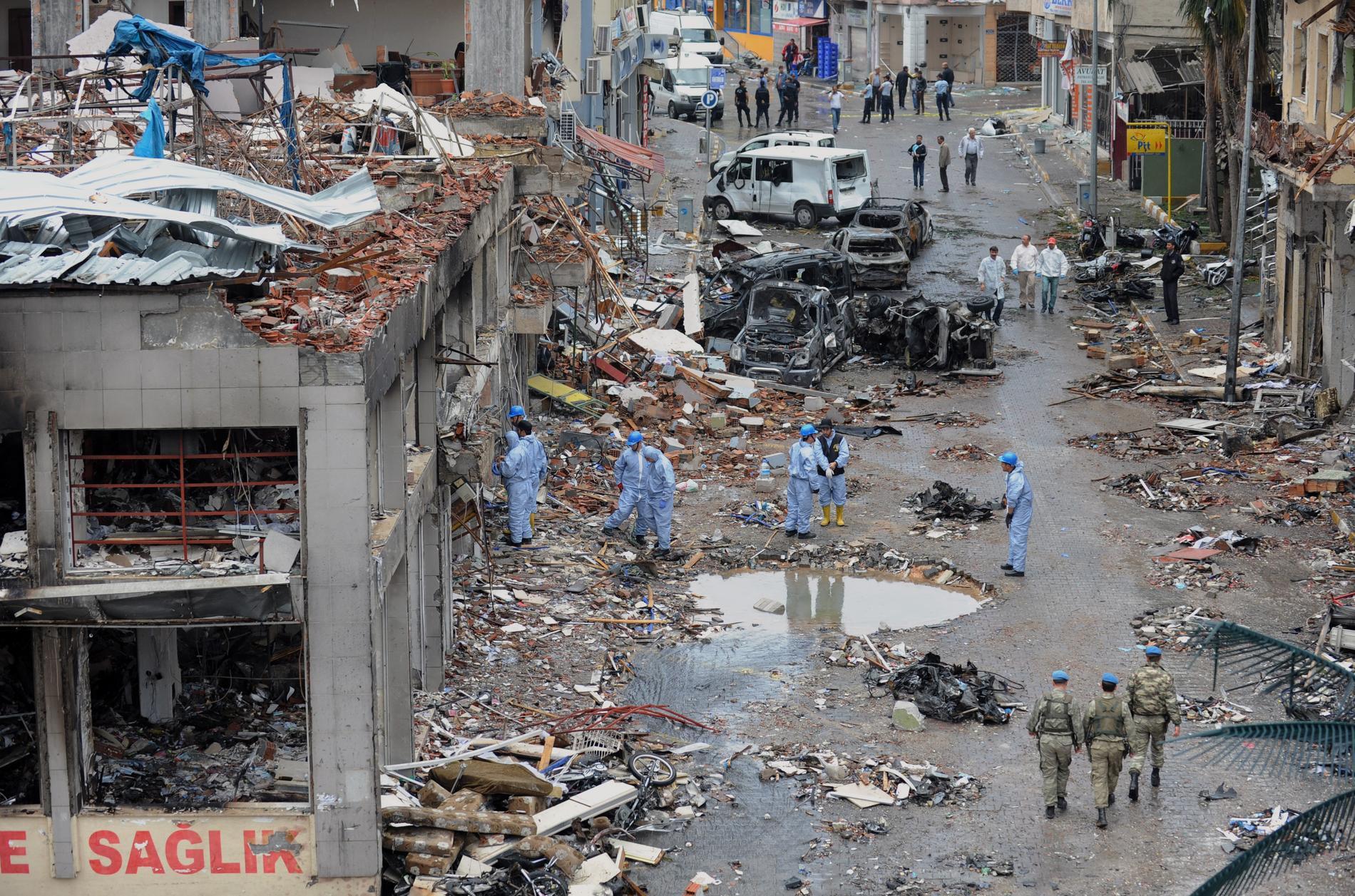 Över 50 människor dog i bombdådet 2013. Arkivbild.