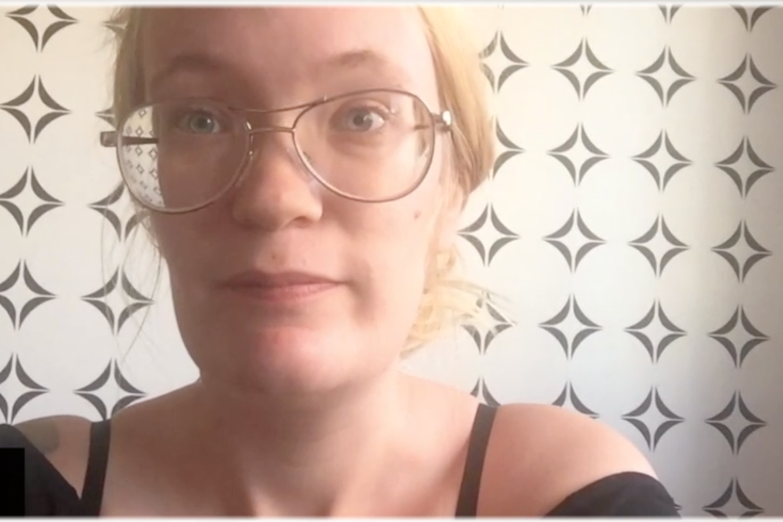 """Sol Nordkvist kände skalvet: """"Vi kände hur sängen skakade till""""."""