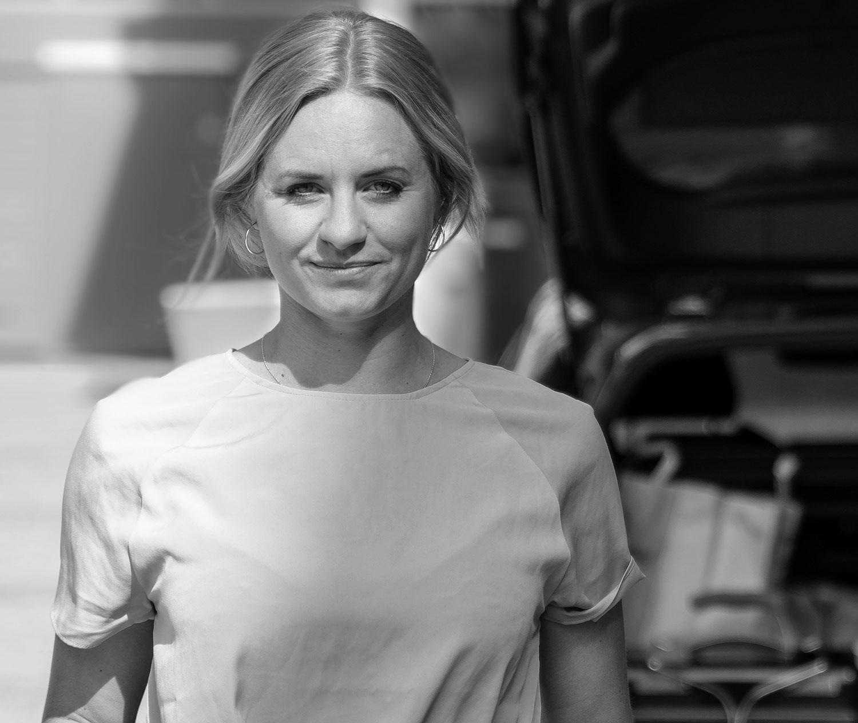 Klara Bergkvist, marknadschef förGoMore i Sverige.