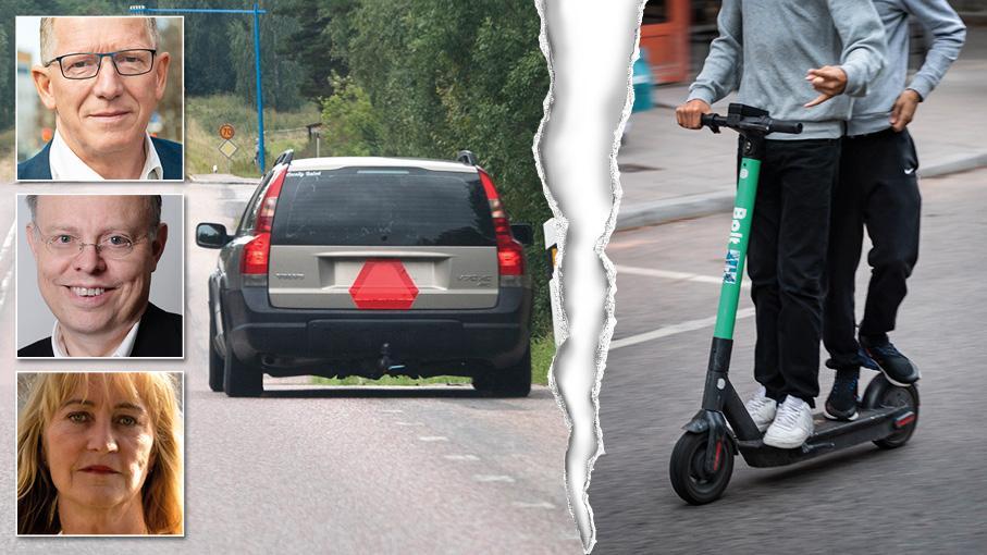 För att få köra A-traktor krävs några timmars praktisk övning på en moped. Säkerhetskraven för elsparkcyklar är i stort sett obefintliga. Vi måste anpassa regelverket till den verklighet vi alla lever i, skriver Benny Gunnarsson, Erik Risberg och Helen Melchersson.