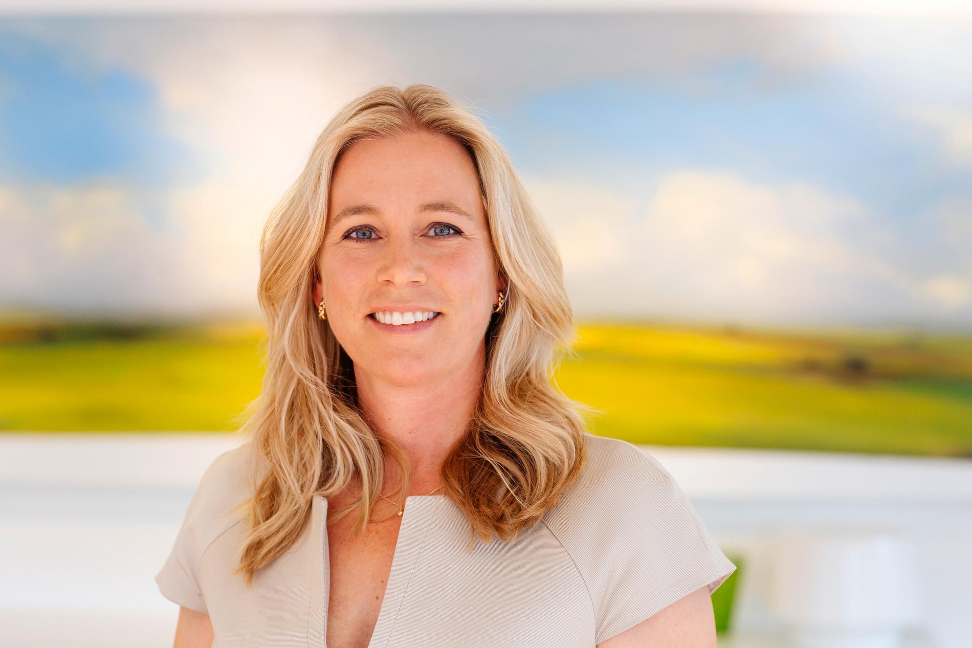 Catharina Åbjörnsson Lindgren, affärschef på Lanshypotek Bank.