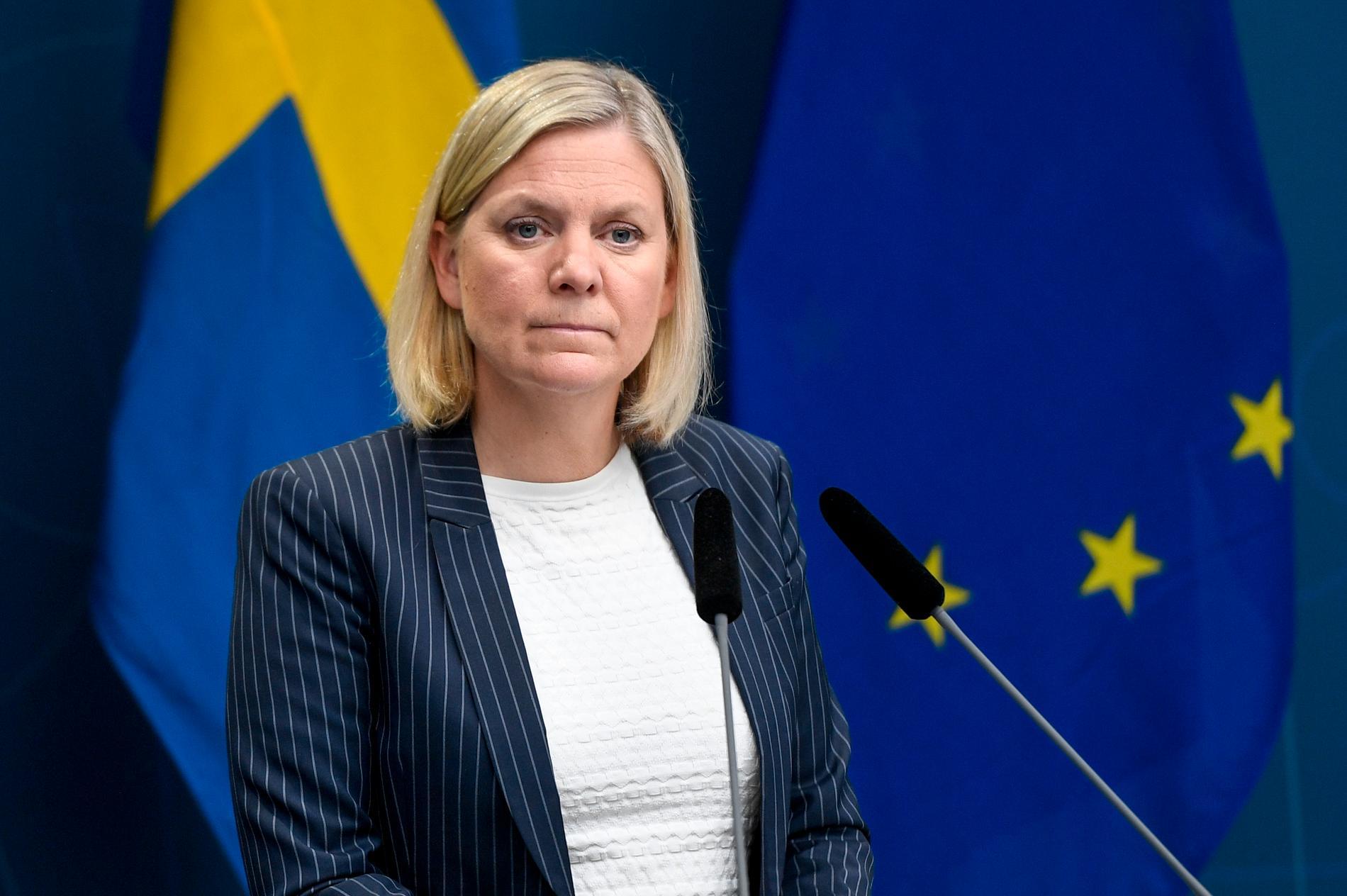Företagen vill ha mer stöd av finansminister Magdalena Andersson (S). Arkivbild.