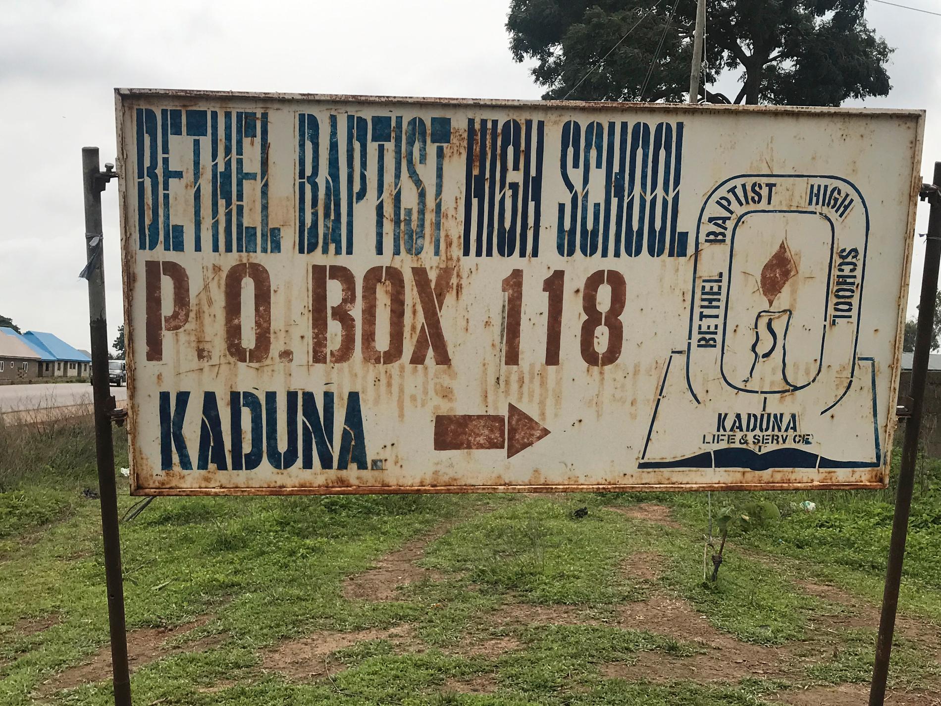 Skolan i Kaduna i Nigeria.