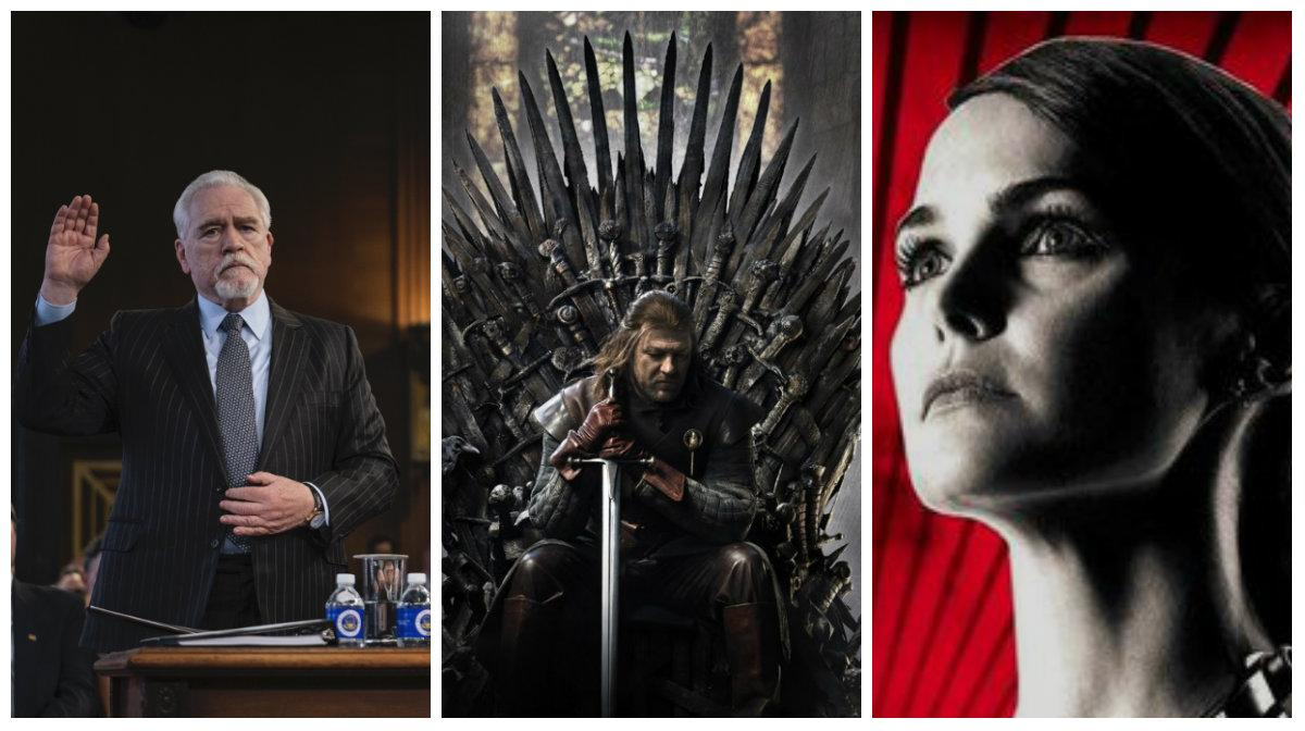 """""""Succession"""", """"Game of thrones"""" och """"The Americans""""."""