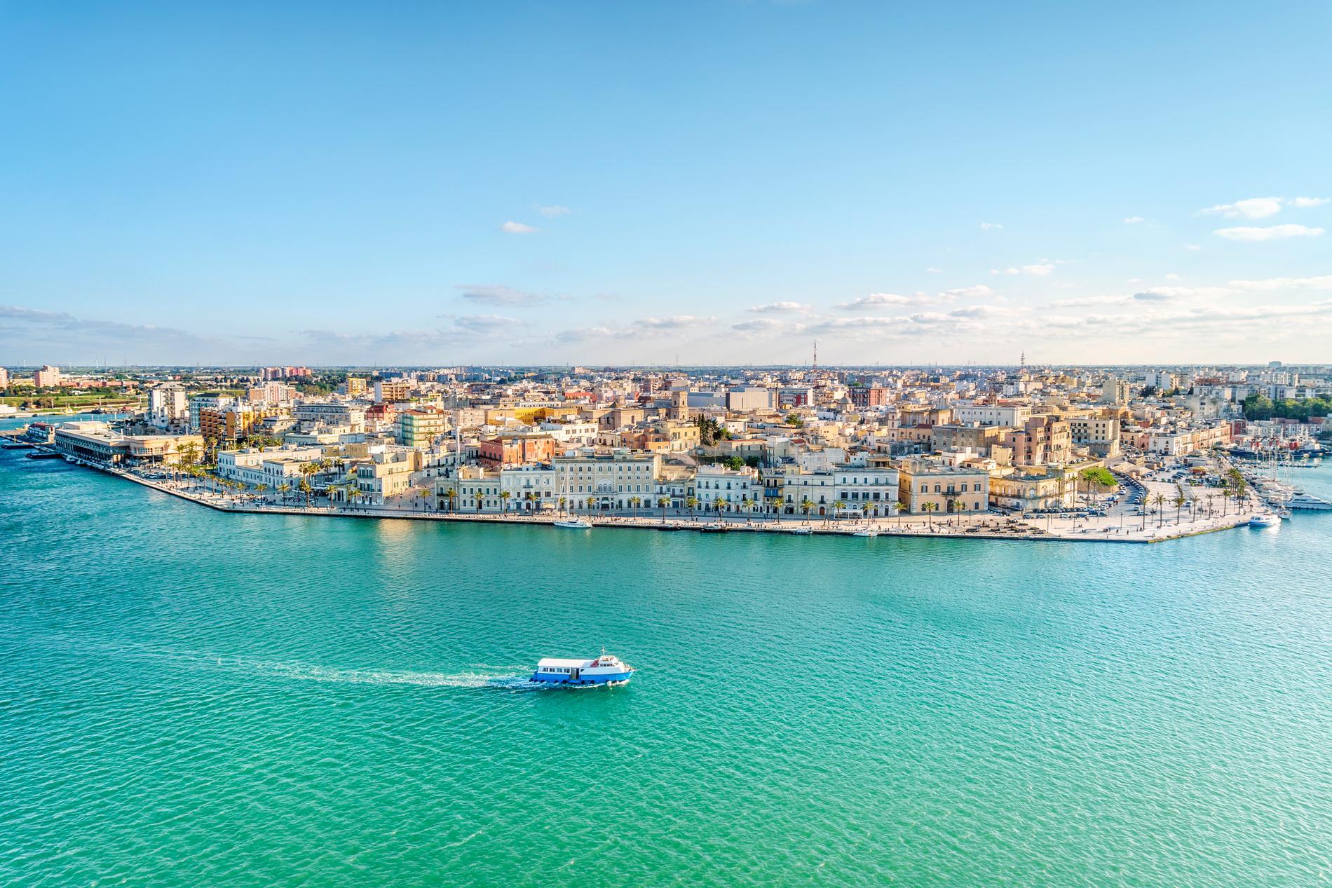 Apulien ligger på Italiens häl.
