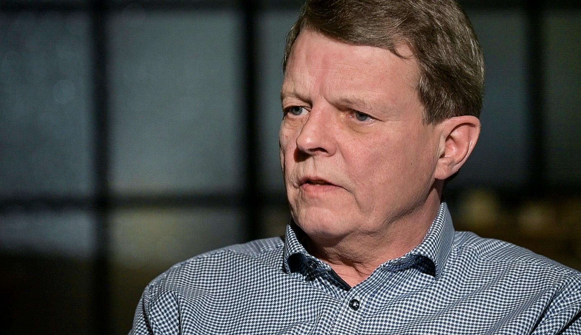 Lennart Andersson sökte vård i Finland efter dödsdomen från den svenska läkaren.