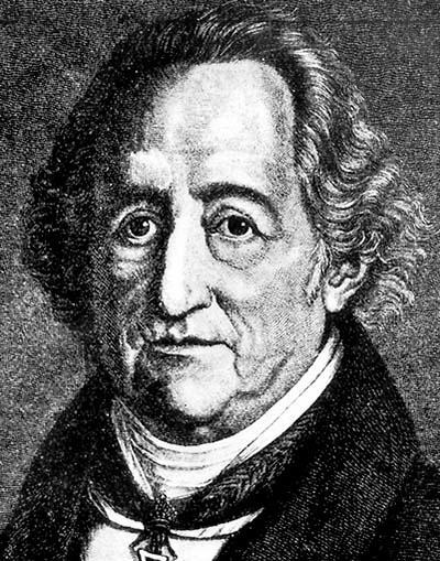 """Johann Wolfgang von Goethe (1749–1832) skrev """"Faust I"""" och """"Faust II""""."""