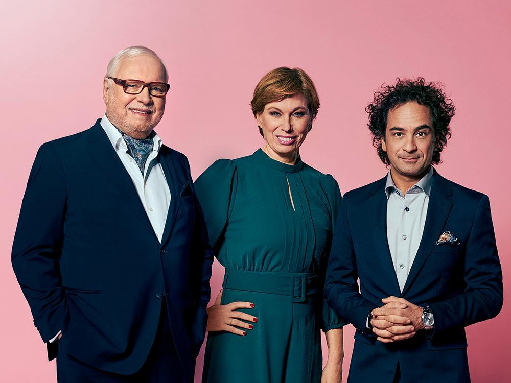 Tillsammans med Mischa Billing och Markus Aujalay gör Leif Mannerström tillfällig comeback i Sveriges mästerkock VIP 2021.