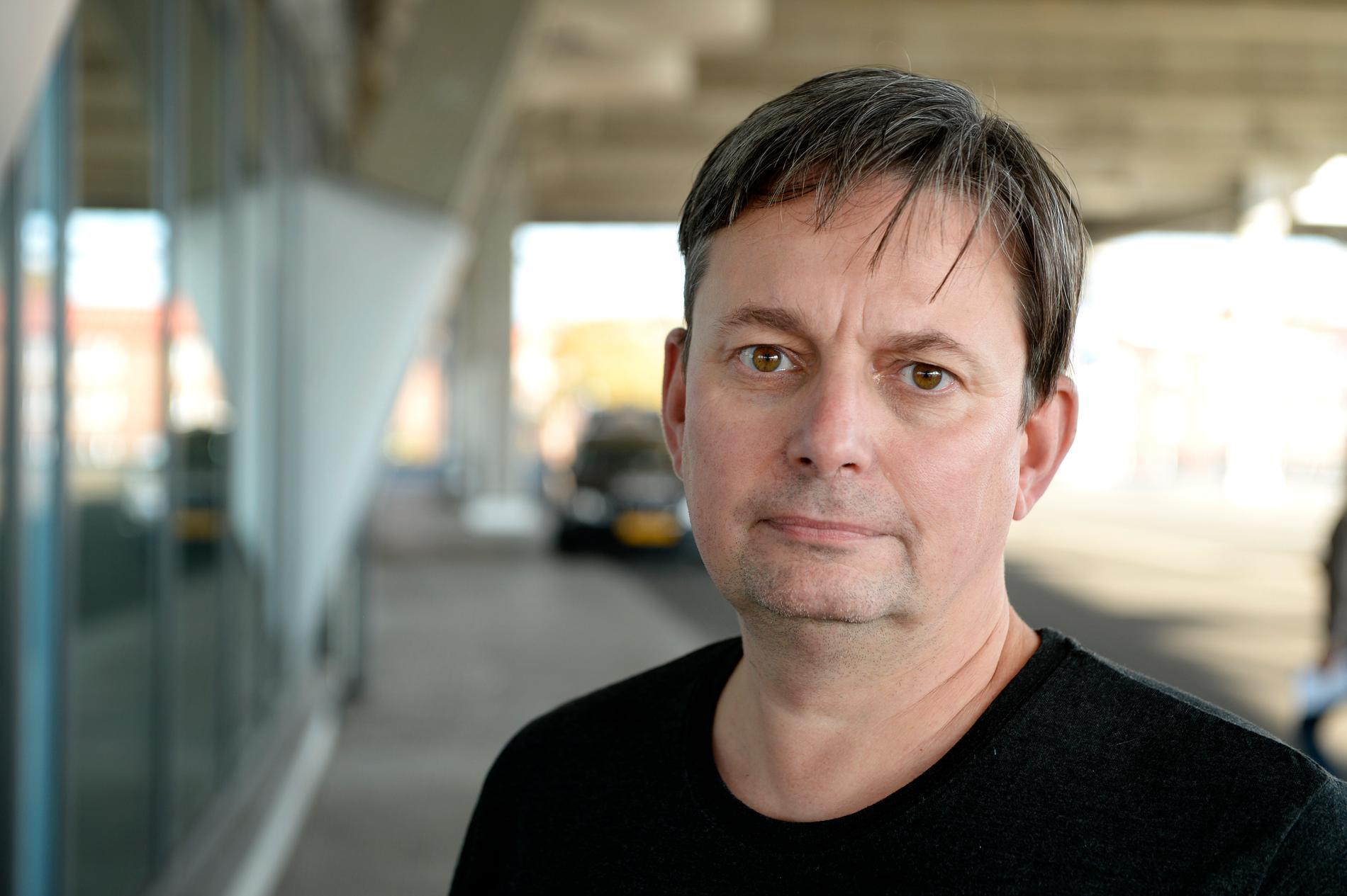 Sveriges förbundskapten för damlandslaget i bandy, Magnus Nordin. Arkivbild.