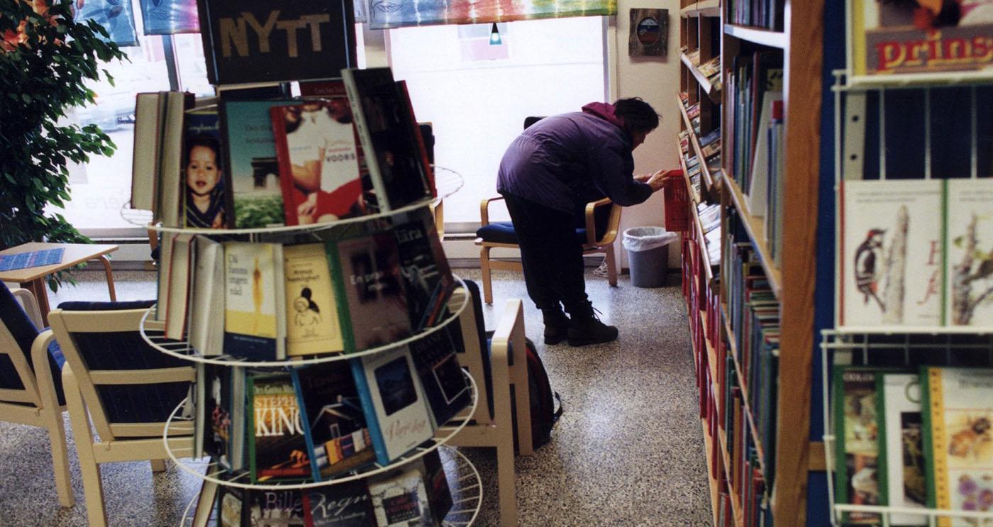 Sju av tio folkbibliotek höll stängt under stora delar av coronapandemin.