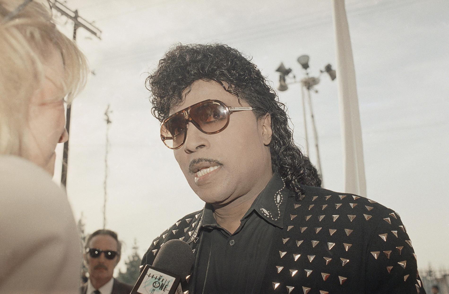 Little Richard vid amerikanska grammy awards 1989.