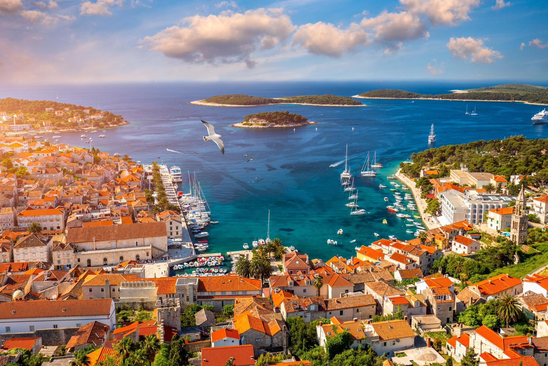 Hvar i södra Kroatien utsågs till Europas bästa ö i år.