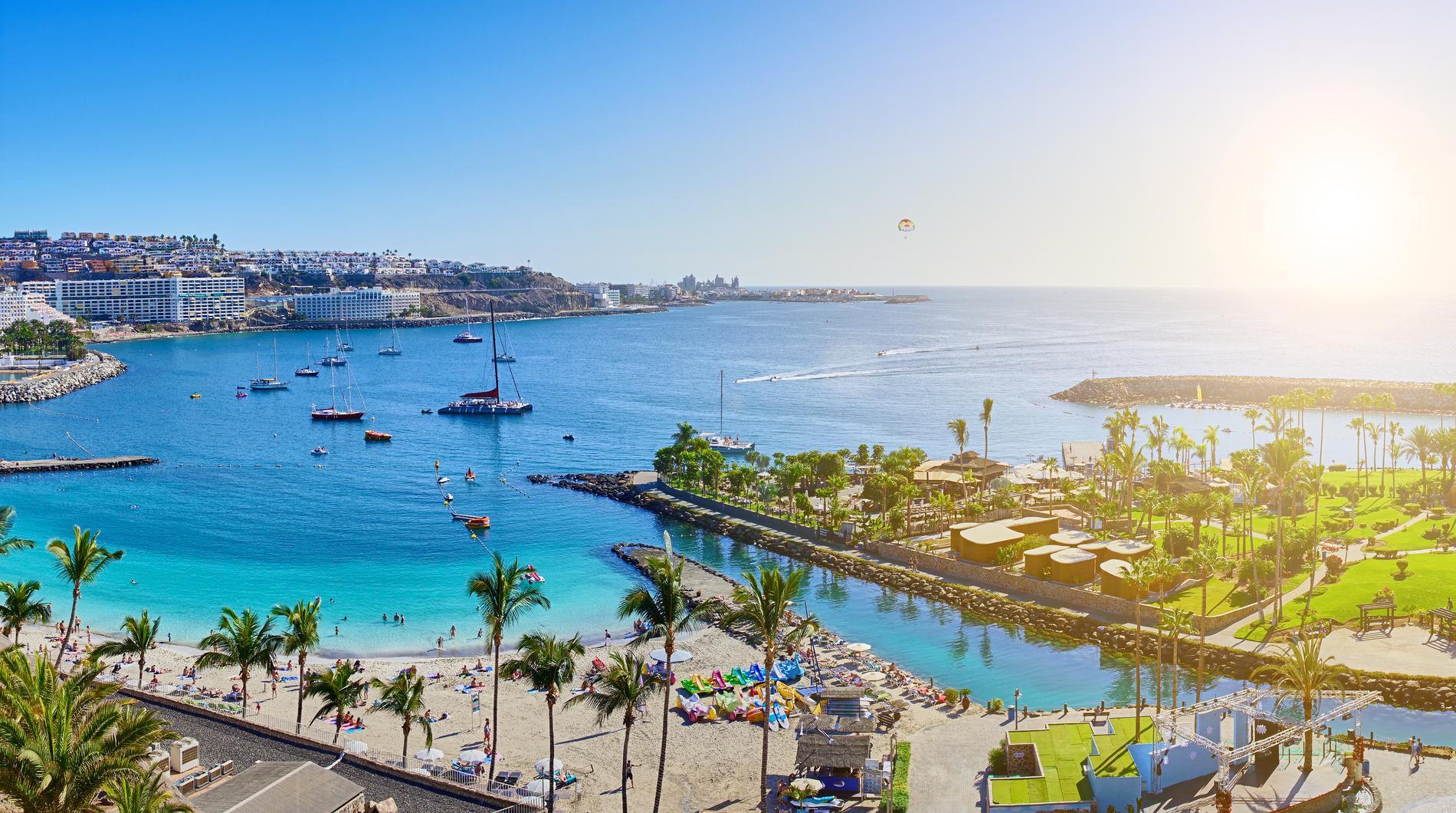 Många svenskar vill åka till Gran Canaria på vintern.
