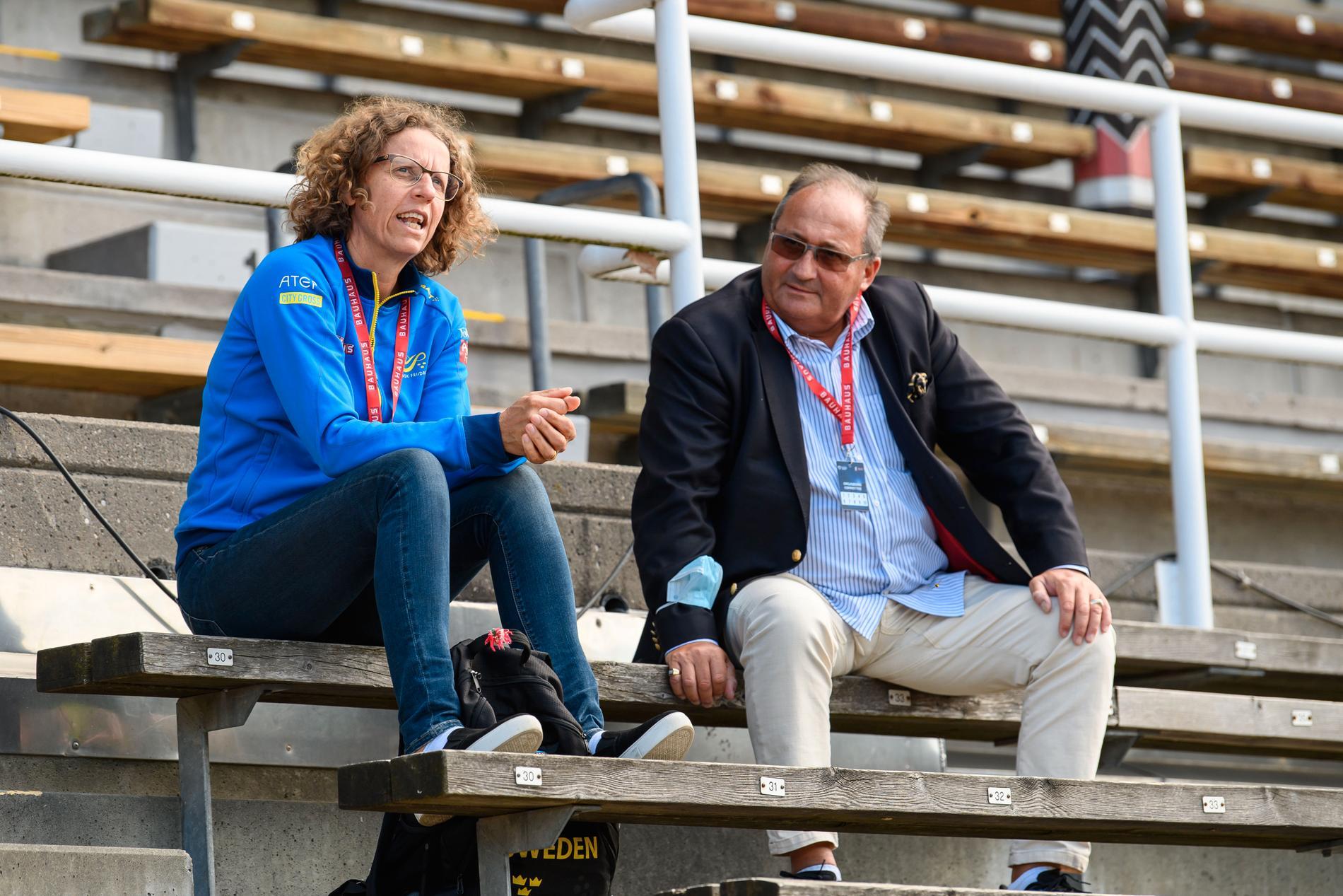 Karin Torneklint och Daniel Wessfeldt.