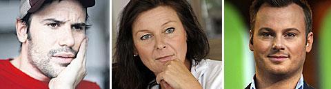 Martin Stenmarck, Lotta Engberg och Magnus Carlsson åtalas för ekonomisk brottslighet.