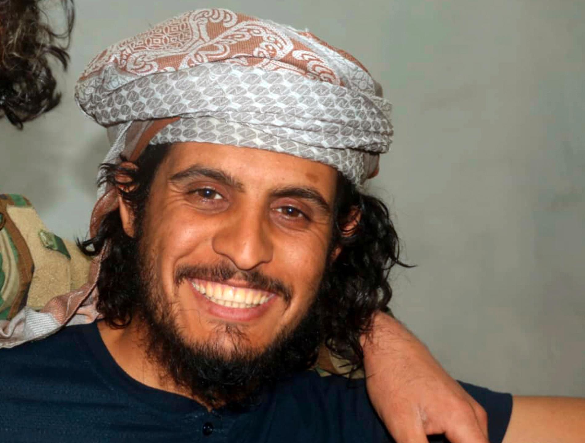 Den 27-årige Abd al-Basset al-Sarout på en bild släppt av den rebellgrupp han ingick i. Arkivbild.