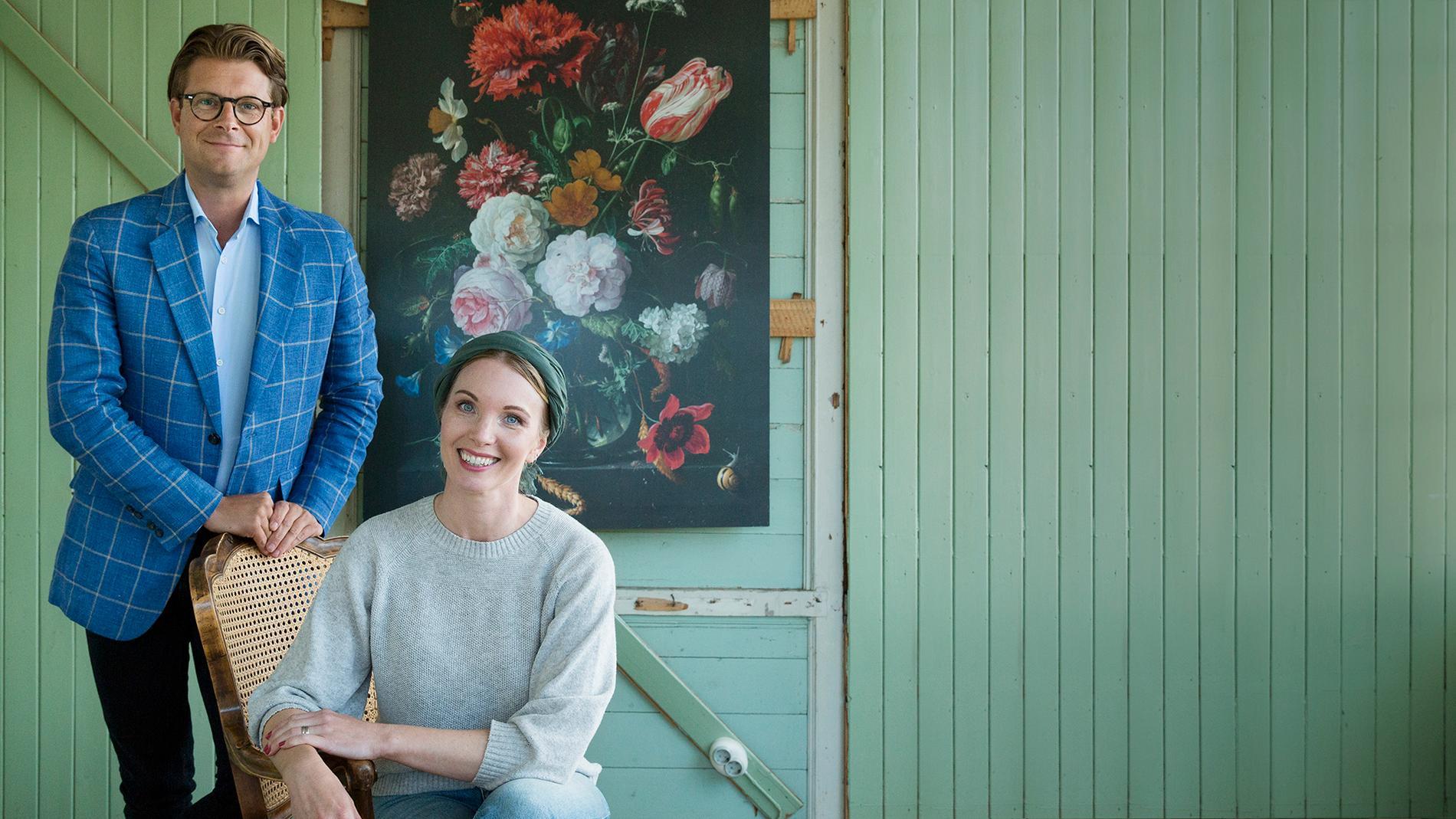 Rickard Thunér och Erika Åberg.