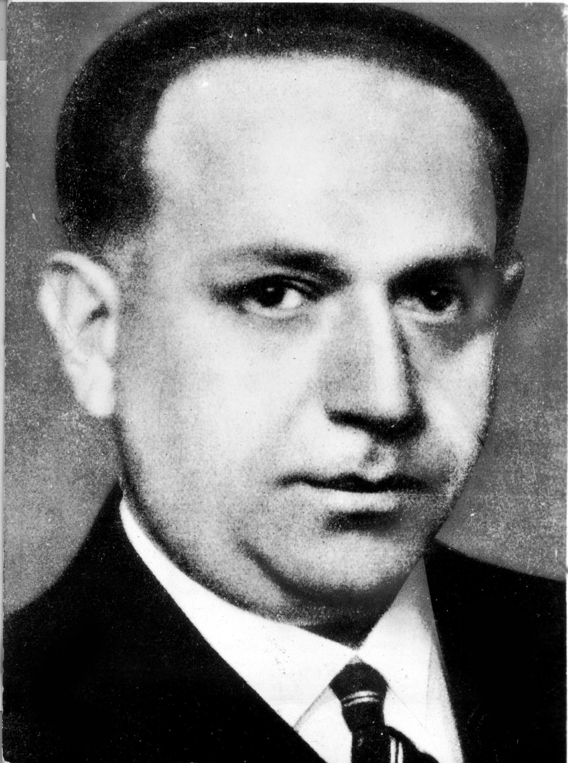 Kurt Tucholsky, journalist och författare. Okänt fotodatum