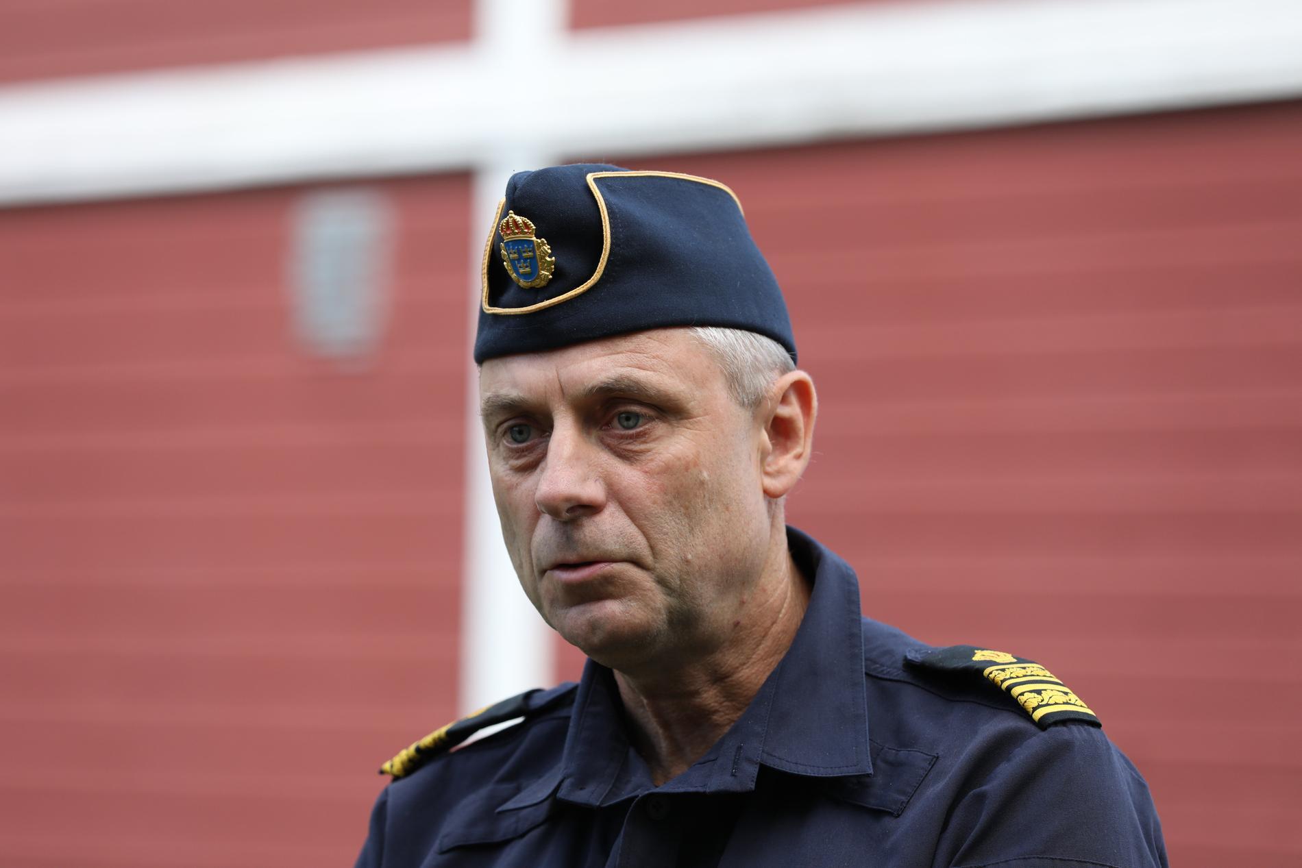 """""""Det är en oerhört allvarlig utveckling som jag ser det"""", säger lokalpolisområdeschefen Anders Olofsson."""